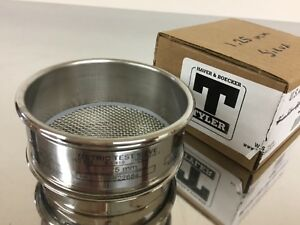 W s tyler Metric Test Sieve 3 1 25mm Stainless Steel Iso 565 3310 1 Usa New