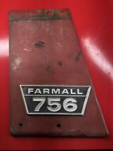 Ih Farmall 756 Left Hand Side Panel With Emblem