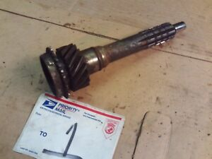 Corvette Camaro Chevelle Saginaw 4 Speed Manual Transmission 10 16 Input Shaft