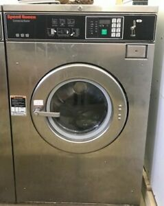 Speed Queen 30lb Bc Coin Op Commercial Washer Huebsch Dexter Wascomat Laundromat