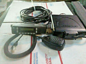 Kenwood Tk 5720 Tk5720 Mobile Radio P25 With Remote Cable