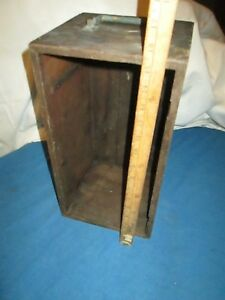 Antique Victorian Microscope Box 1