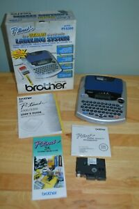 Brother Pt 2300 P touch Electronic Label Maker With Auto Cutter