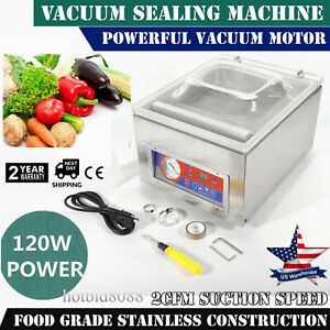 Commercial Vacuum Sealer System Food Sealing Machine Kitchen Storage Packing Usa