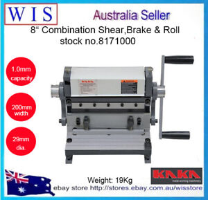3 In 1 8200mm Combination Sheet Metal Brake Shear And Roll 8171000