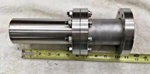 3 4 1 2 Hva Stainless High Vacuum Fitting Conflat Flange 1 Rotatable