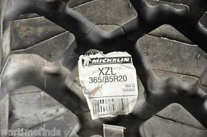 New Michelin 365 85r20 Xzl Tire 44 Inch Tall Military M35a3 Monster Mud