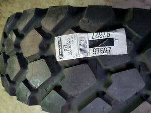 Michelin 365 80 r20 Xzl Tires 42 Inch Tall Nos Condition
