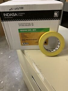 Indasa 556740 3 4 Yellow Premium Automotive Masking Tape 48 Rolls