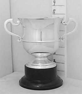 271 Antique 1905 English Sterling Silver Trophy Loving Cup Not Inscribed