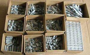 New Wheel Weights Kit Shop Supplies Coated And Uncoated Tire Mounting Balancing