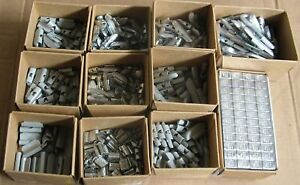 New Wheel Weights Kit Shop Supplies Coated and Uncoated Tire Mounting Balancing $189.00