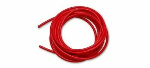 Vibrant Performance Vacuum Hose Silicone Red 0 375 In I d 10 Ft Length Each