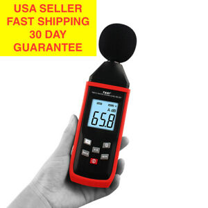 Digital Sound Meter Noise Meter Measure 30 130db Noise Tester Decibel Meter