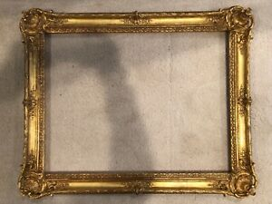 Antique Style 32x24 Large Gold Gilt French Baroque Louis Xv Picture Frame 19e