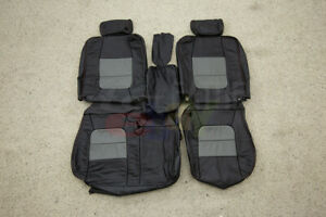 2002 2003 Ford F 150 Supercrew Lariat Fronts Only Katzkin Leather Seat Covers