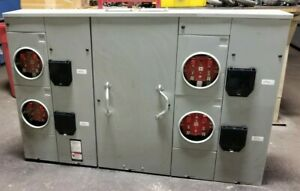 New Siemens 400 Amp All In One Metering Pak 120 240 Vac 1 3 Wire 4 Jaw 200a
