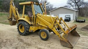 1987 Case 580k Tractor Loader Backhoe With 794 Actual Hours