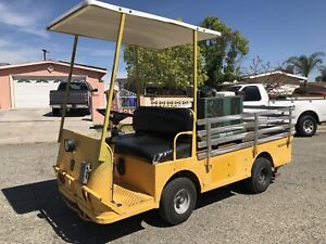 Taylor Dunn Industrial Flatbed B248 With Air Compressor