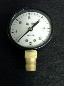 Usg 0 30 In Hg Vacuum Gauge 2 Face 1 4 Pipe