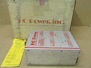 Nib Hc Power Hc10 c1470a Hc10c1470a Power Supply 12 V 115 208 240 Vac 15 20 Amp