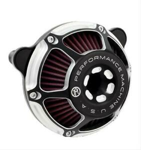 Performance Machine Contrast Cut Max Hp Air Cleaner 0206 2078 Bm