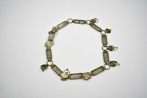 Antique Chinese Silver Necklace 20 Length