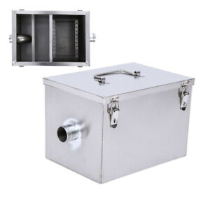 Commercial Steel Grease Trap Interceptor For Restaurant Kitchen Hotel Wastewater