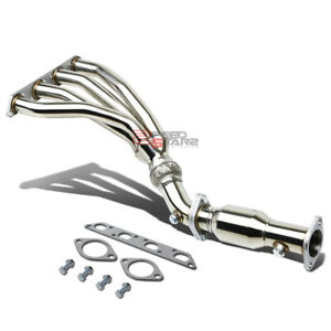 For 02 08 Mini Cooper R50 R52 R53 T304 Stainless Steel Header Exhaust Manifold