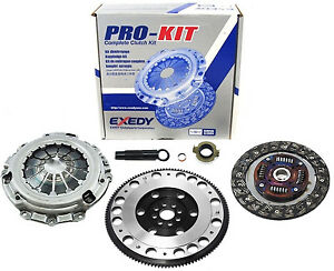 Exedy Pro Kit Clutch platinum Racing Flywheel For Acura Rsx Type s Civic Si 6spd