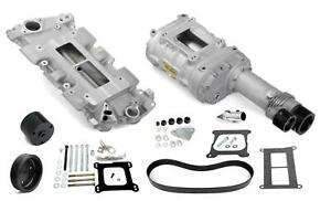Weiand 7740 1 Supercharger System Roots 144 Series Satin Chevy Sm