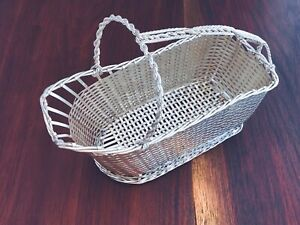 Christofle French Silverplate Wine Bottle Basket 1935 83 No Monogram