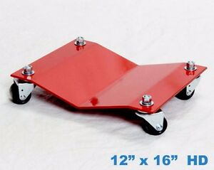 Heavy Duty Car Auto Dolly Moving Skate Shop Garage Mechanic Tire Wheel Storage