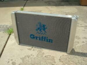 Griffin Aluminum Race Car Universal Radiator Ford Engine 31 X 19 1 26272 X
