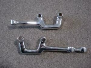 Chassis Eng Bolt Through Chrome Steering Arms For Early Ford Axle P