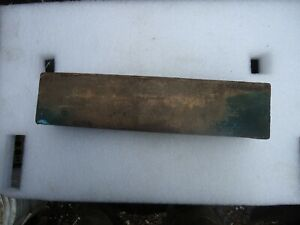 Cast Bronze Ingot For Bushings 12 In Longl And 2 X 2 7 8 Wide