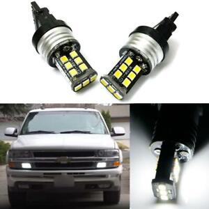 Xenon White 3157 4114 4157 Led 15 Smd Driving Daytime Running Light Drl Bulb Kit