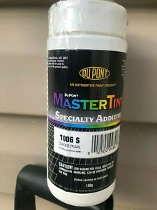 Dupont Mastertint 1006s Specialty Additive Pearl 75 Net Grams Total 125 Grams