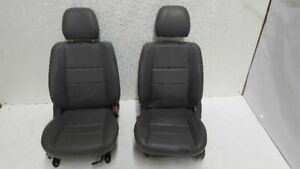 Pair Of Front Leather Seats Fits 2004 04 Isuzu Rodeo R301163