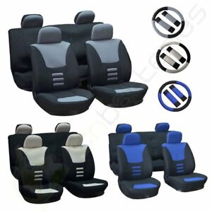For 1997 1998 1999 2017 Toyota Camry Grey Blue Beige Black Car Seat Covers