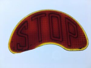Early Red Glass Stop Tail Light Lens Car Truck Motorcycle Chrysler Dodge Old