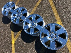 20 Ford F150 Expedition Chrome Limited Xlt Oem Factory Stock Wheels Rims 6x135