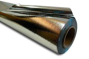 500 Sqft Super R Plus Radiant Barrier Reflective Insulation Perforated No Tear