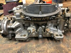 Carter Afb 625 Cfm Competition Series Carburetor 9636sa