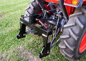 3 point Quick Hitch Category 1 Farming Tractor Implement Attachments Hook Clevis
