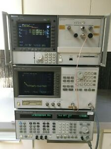 Hp agilent 4352s Signal And Phase Noise Analyzer Test System Up To 26 5ghz