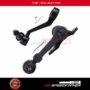 Suspension 2 X Part Pitman Arm Idler Arm Fit For 1989 1995 Toyota Pickup 4wd