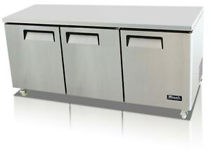 New Migali C u72r 72 Under counter Worktop Refrigerator