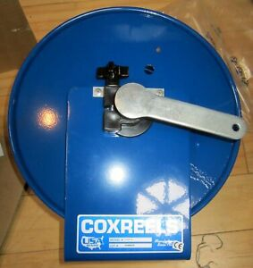 Coxreels 112y 4 Hand crank Steel Tubing Or Electrical Cord Storage Reel Usa