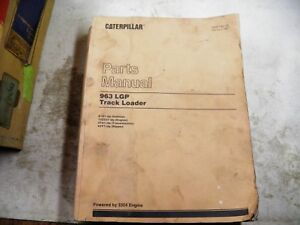 Cat Caterpillar 963 Lgp Parts Manual 21z1 up